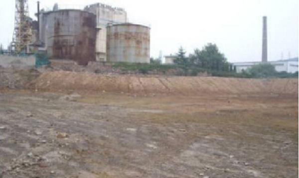 需要土污處理的工廠